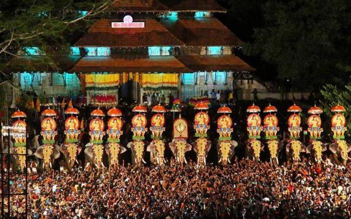 Thrissur Pooram - Kerala9.com