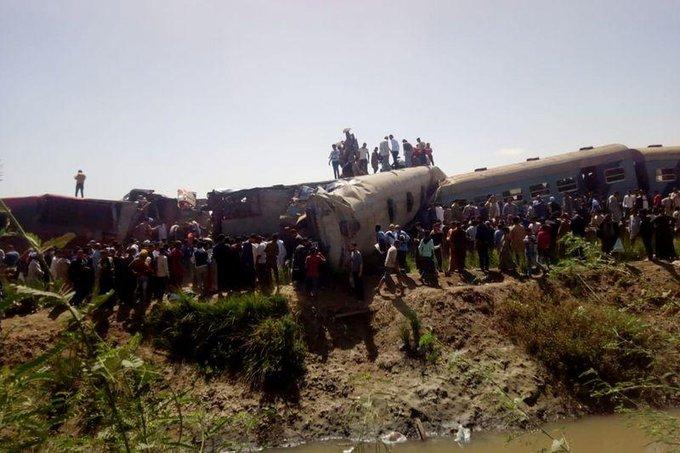 train collision in Egypt - Kerala9.com