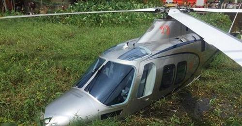 MA Yousafali helicopter crashes in Kochi - Kerala9.com