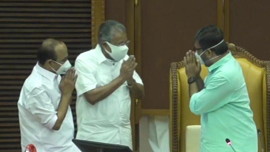 MB Rajesh Speaker of the Kerala Legislative Assembly