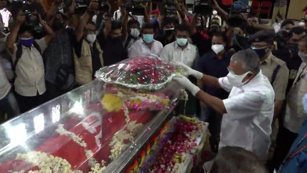 Revolutionary star KR Gowri Amma has passed away
