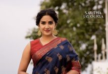 aditi ravi saree photos hd