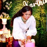 actress karthika nair birthday celebration photos