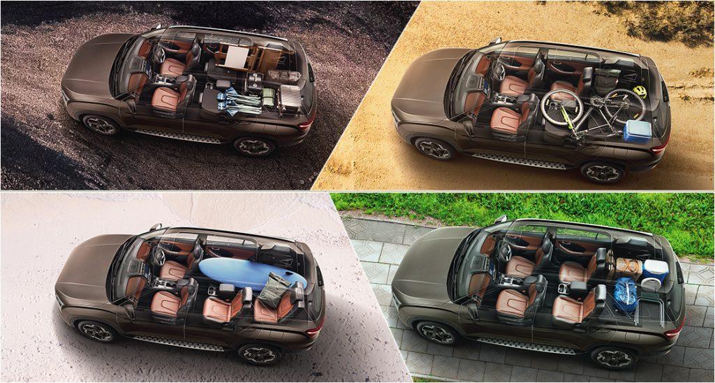 hyundai alcazar 7 seater interior photos 021 002