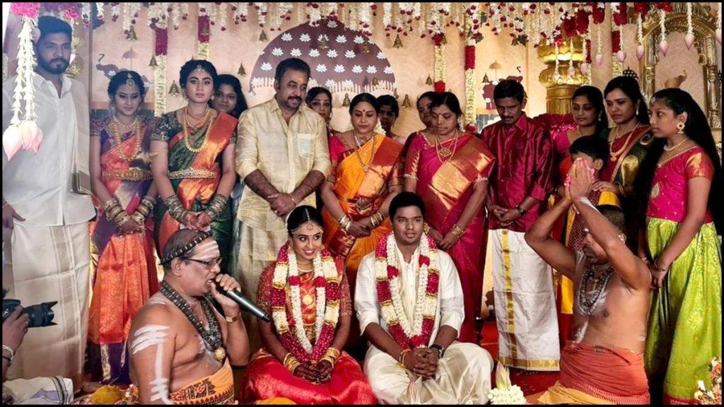 saranya ponvannan daughter marriage photos 001