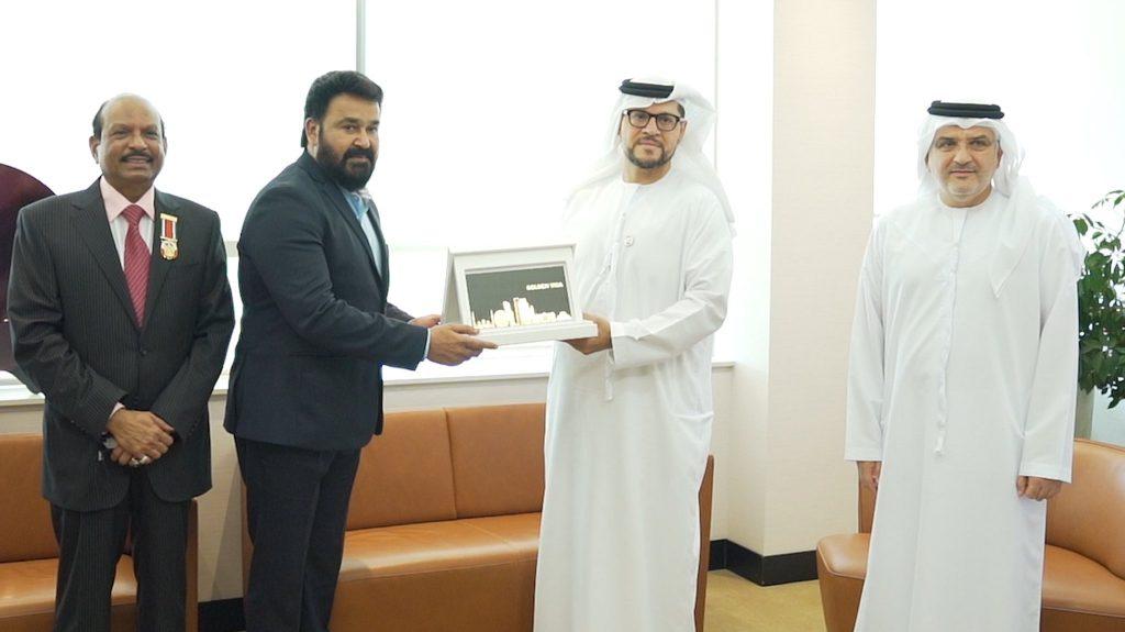 Mohanlal Receives Golden Visa for UAE photos 001