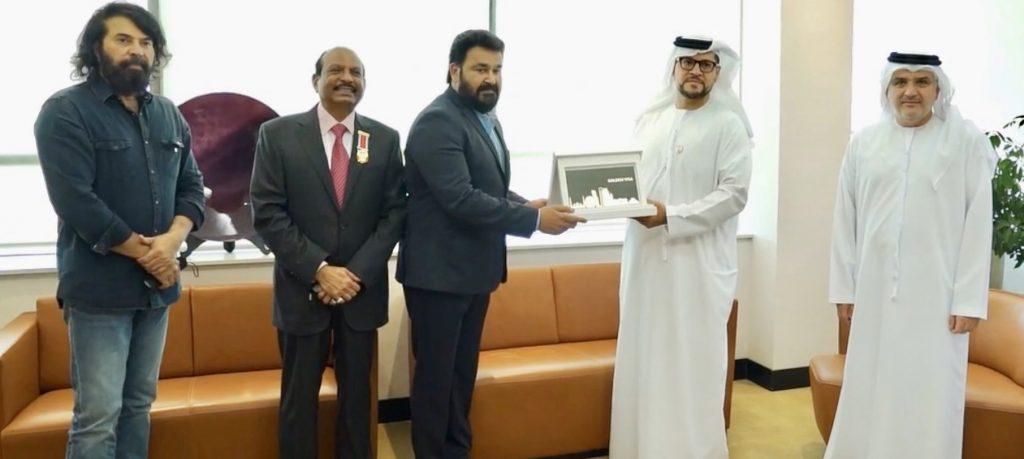 Mohanlal Receives Golden Visa for UAE photos 003
