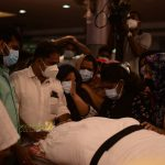 Producer and Chef Naushad Funeral photos