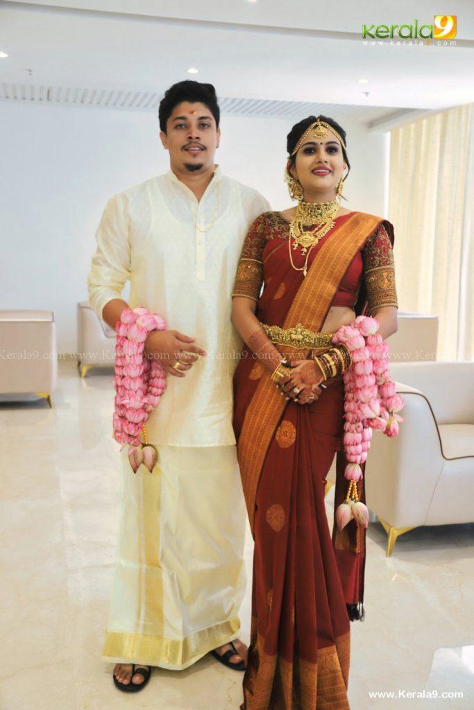 alina padikkal marriage photos 006