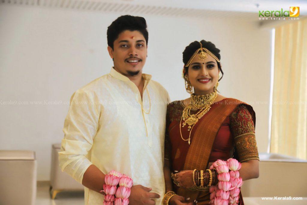 alina padikkal wedding photos