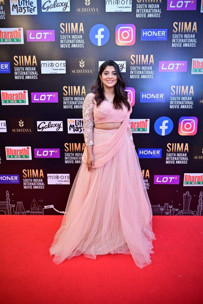 Aparna Balamurali at SIIMA 2021 photos