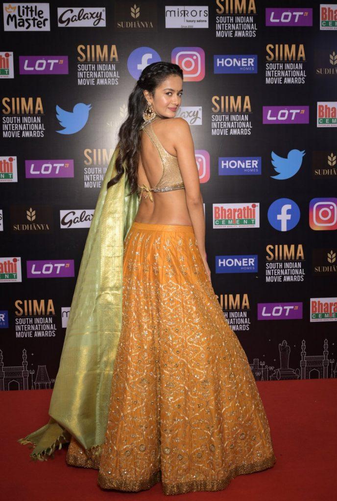 Shubra Aiyappa at SIIMA 2021 photos 1