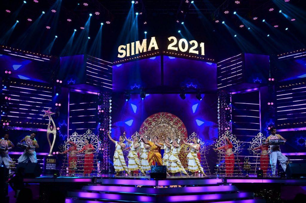 Sree leela at SIIMA 2021 photos 15