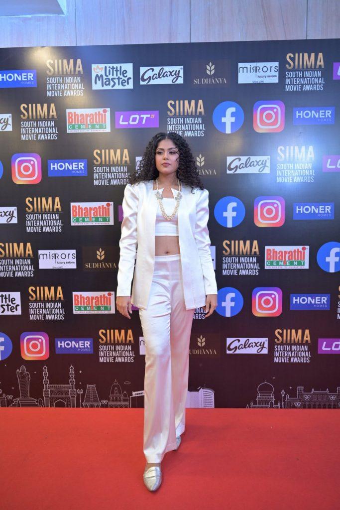 Sree leela at SIIMA 2021 photos 8