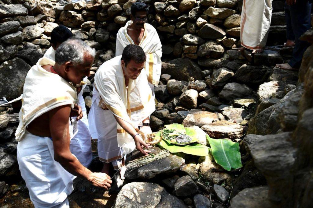 rahul-gandhi-at-thirunelli-temple - RahulGandhi-visits-the-Thirunelli-Temple.jpg